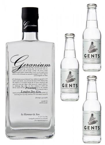 Geranium Gin mit Tonic