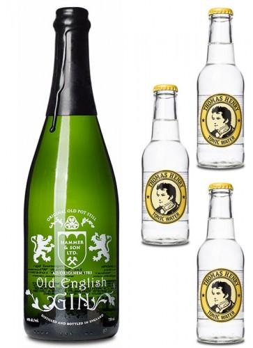 Old English Gin mit Tonic