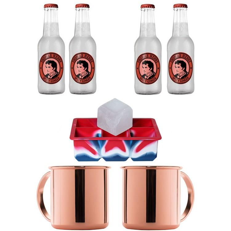 moscow mule set mit ginger beer kaufen gin kingdom shop. Black Bedroom Furniture Sets. Home Design Ideas