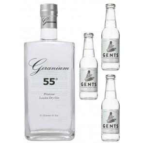 Geranium Gin mit Tonic Wasser