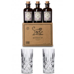 Monkey 47 Gin Becher Set