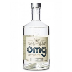 Oh My Gin OMG Front Label
