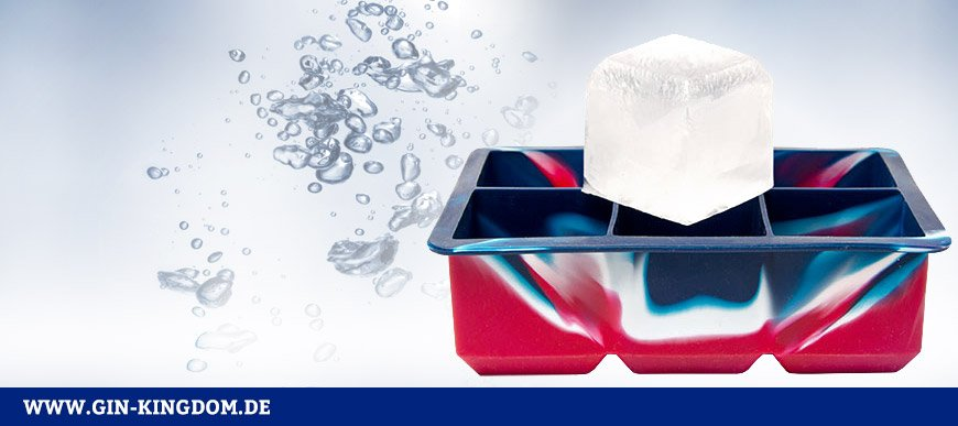 XXL Eiswürfelform aus Silikon
